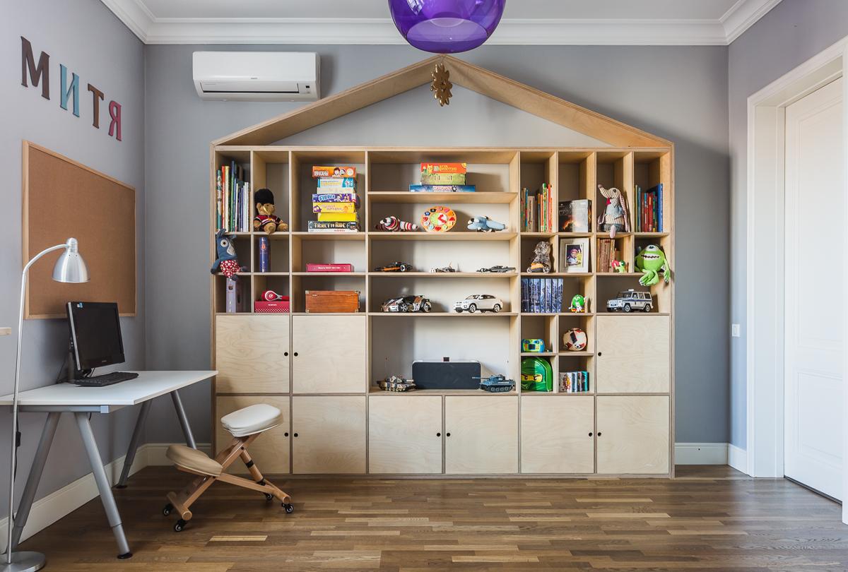 Тенденции развития интерьера и мебели из фанеры в России