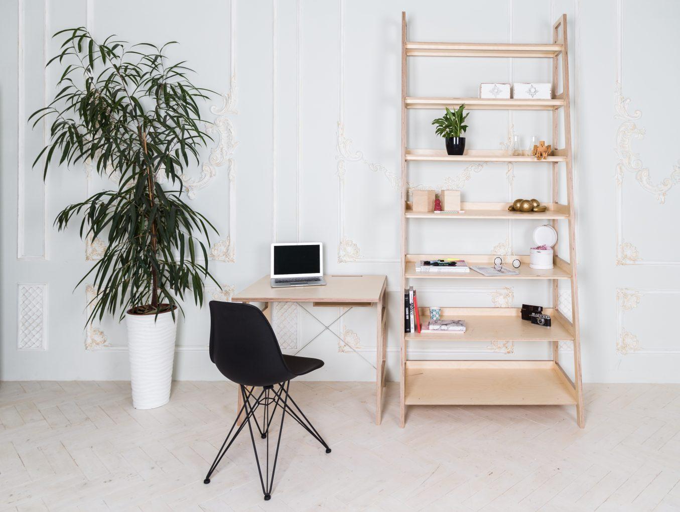 Мебель в скандинавском стиле из фанеры