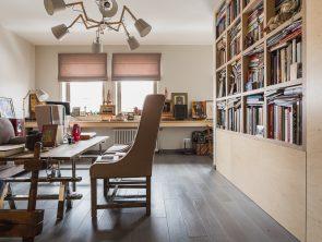 Современная дизайнерская мебель из фанеры производства мастерской Никиты Максимова