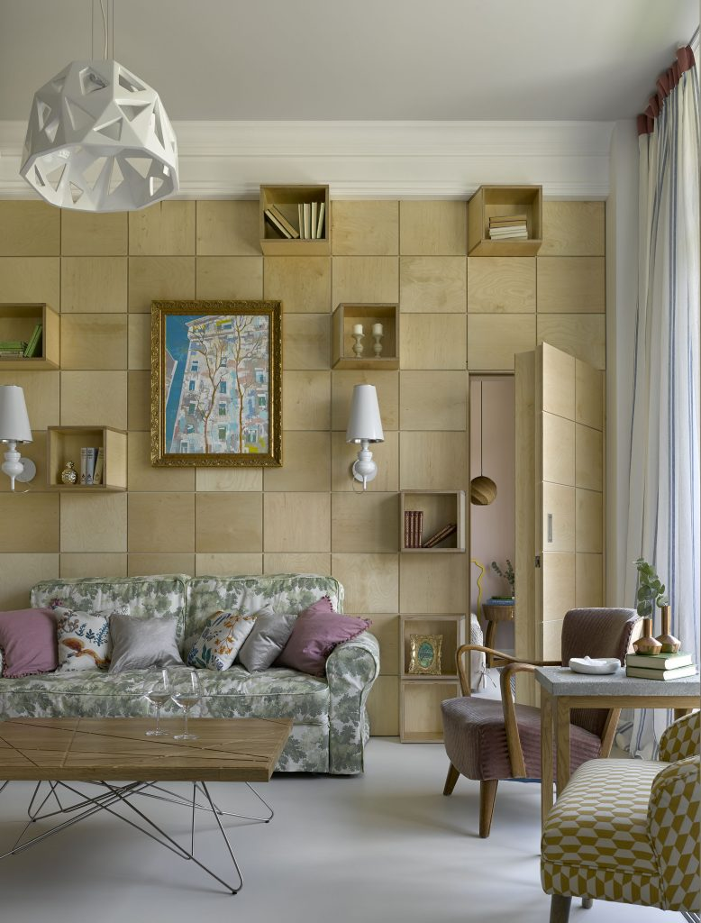 Стеновые панели из фанеры