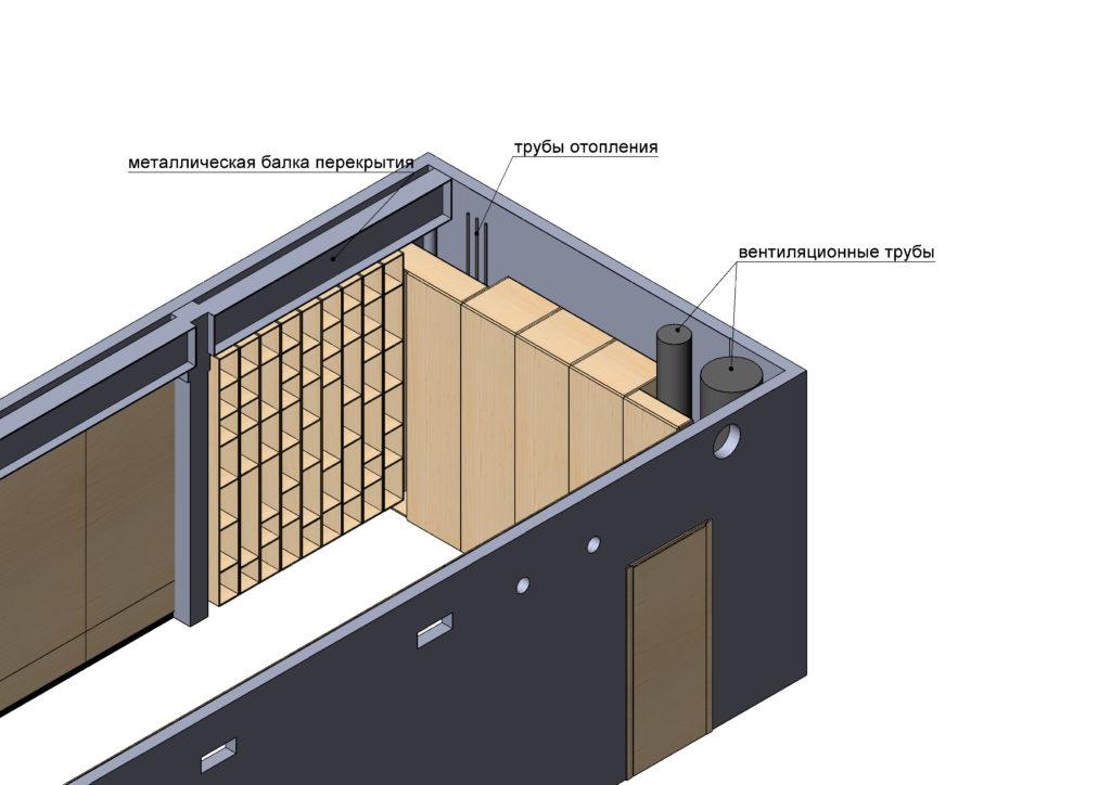 Проект переговорной комнаты
