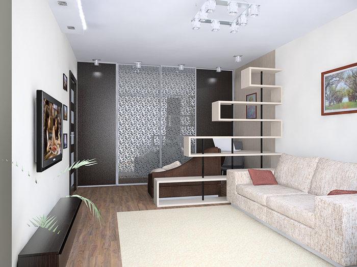 7 идей, где разместить системы хранения в однокомнатной квартире